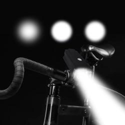 Lanterna LED bicicleta, 180 lm, curea, impermeabila, 3 moduri iluminare