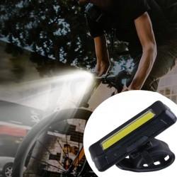 Lanterna bicicleta LED COB...