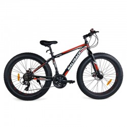 Bicicleta MalTrack Fat Bike cu 21 viteze, 26 Inch roti late 4'', cadru din aluminiu, frane pe disc