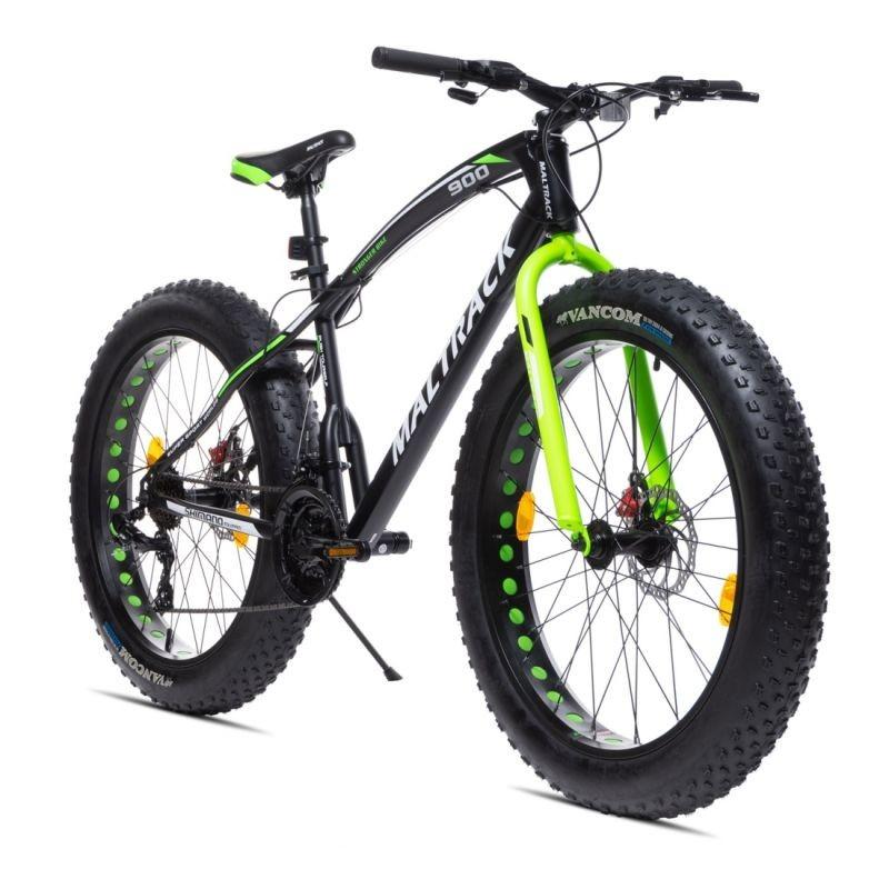 Bicicleta Fat Bike roti 26 inch, cadru otel 17'', 7 viteze, frane disc, MalTrack Jagura