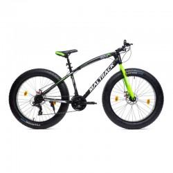 Bicicleta Fat Bike roti 26 inch, cadru otel 17'', 21 viteze, frane disc, MalTrack Jagura