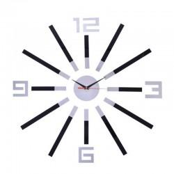 Ceas de perete DIY Bril, efect 3D, diametru 80-100 cm, design elegant