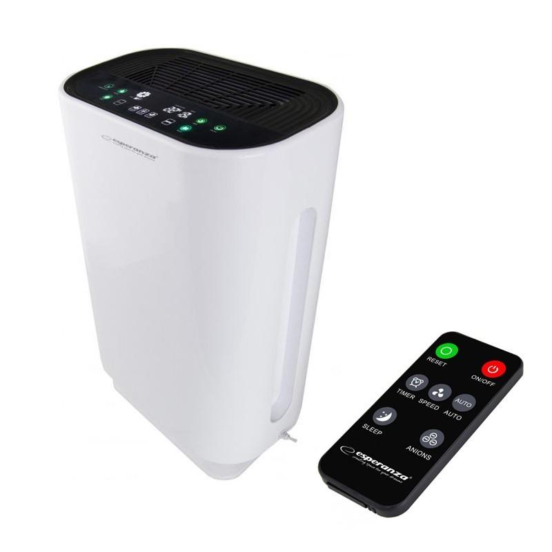 Purificator aer putere 43W, 50 mp, 4 nivele de filtrare bactericida, functie ionizare, LCD, telecomanda