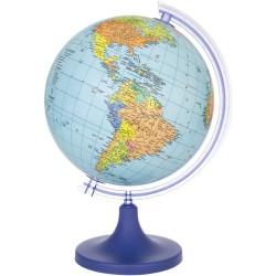 Glob geografic, cartografie harta politica, diametru 25 cm, rotativ, meridian