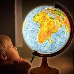 Glob geografic iluminat 2...