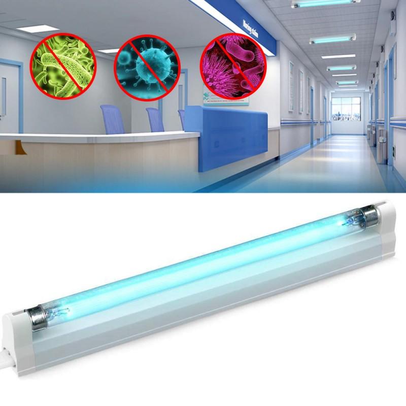 Lampa bactericida UVC Ozon 8W, suprafata sterilizare 8 mp, fixare perete, suport aluminiu