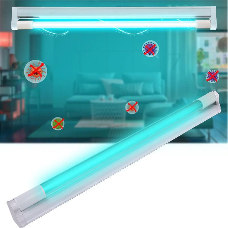Lampa UVC bactericida 30W, tub sticla cristal Quartz, pentru sterilizare dezinfectie 30 mp