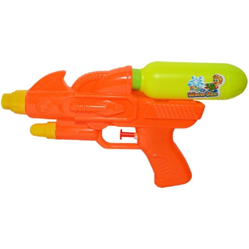 Pistol cu apa, rezervor reincarcabil, 24x13x3.5 cm, portocaliu