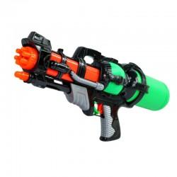 Pistol mitraliera cu apa, rezervor detasabil 1.7 l, lungime 40 cm, multicolor