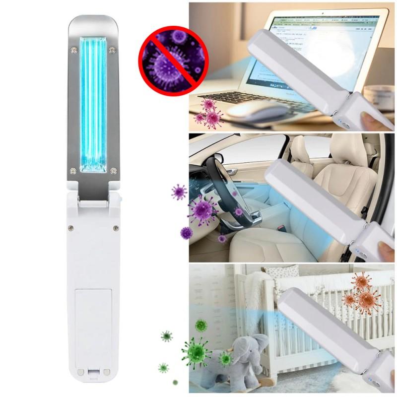 Lampa UVC bactericida portabila tip bagheta, pentru sterilizare, 3W