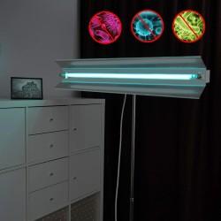 Lampa bactericida UVC 30W, orientabila, portabila cu stativ telescopic, sterilizare 30 mp, reflector