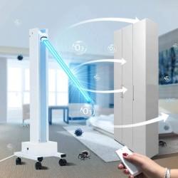 Lampa bactericida UVC profesionala 100W, portabila, pentru 85 mp, cu brat mobil, temporizator, telecomanda