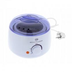 Aparat pentru incalzit ceara 100W, temperatura reglabila, 400ml, indicator LED, BeautyLushh