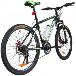 Bicicleta de munte MalTrack Team, roata 26 inch, 18 viteze schimbator Shimano, jante aluminiu, cadru 18'', frane disc