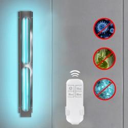 Lampa bactericida UVC 75W, dezinfectare, ozon, suprafata sterilizare 80mp, telecomanda, corp metalic, fixare perete