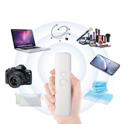 Sterilizator 6 LED-uri UVC portabil pentru obiecte, temporizator, reincarcabil USB, 400mAh, 15x3.8 cm