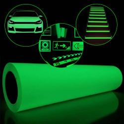 Folie fosforescenta verde 1...