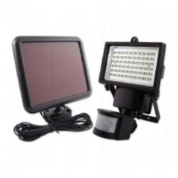 Reflector solar 15W, 60 LED-uri SMD, 2 moduri iluminare, senzor miscare, alb rece, IP65