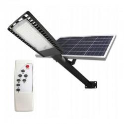 Lampa iluminat stradal 120 LED-uri 120W, panou solar 40W, control telecomanda, 30000mAh, timer, 9500lm, IP65