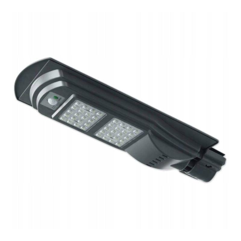 Lampa Solara Pentru Iluminat Stradal Led Uri Smd 40w Senzor Miscare Control Telecomanda Timer 3 Moduri
