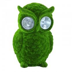 Bufnita solara LED 0.01W, alb rece, inaltime 15.7 cm, protectie IP44, decoratiune curte/gradina, verde