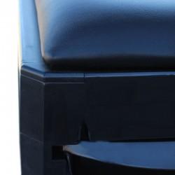 Ucenic cu 2 sertare pentru pedichiura, scaun tapitat, Resigilat