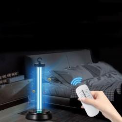 Lampa UVC bactericida metalica, cu ozon, 36W, cu telecomanda si temporizator, sterilizare suprafata 36 mp si aer