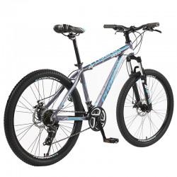 Bicicleta Mountain Bike, cadru aluminiu, roti 26 inch, 21 viteze, schimbator Shimano, suspensii pe furca, frane pe disc, Phoenix