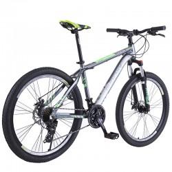 Bicicleta Mountain Bike 26 inch, cadru aluminiu, 21 viteze, schimbator Shimano, suspensii furca, frane disc, PHOENIX