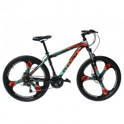 "Bicicleta MTB Tornado, cadru otel 17"", roti 26 inch, 21 viteze, schimbator Shimano, jante aluminiu, frana pe disc, Phoenix"