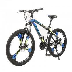 "Bicicleta MTB Tornado, cadru otel 17"", roti 26 inch, 21 viteze cu schimbator Shimano, suspensii pe furca, jante pline, Phoenix"