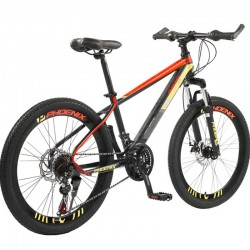 "Bicicleta Mountain Bike cadru otel 13"", roti 20 inch, 21 viteze, schimbator Shimano, suspensii pe furca cu blocator, Phoenix"