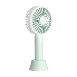 Mini ventilator portabil cu difuzor aromaterapie, 3 viteze, 2.7W, Resigilat