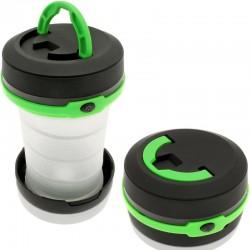 Lanterna tip felinar pentru camping, verde