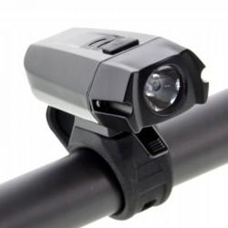 Far bicicleta LED reincarcabil USB 1050 mAh, 400 lm, IPX44, colier prindere