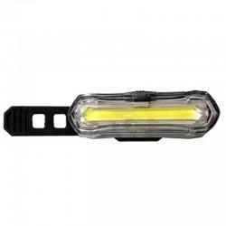 Far LED pentru bicicleta, reincarcabil USB 600 mAh, 4 moduri iluminare, IPX4
