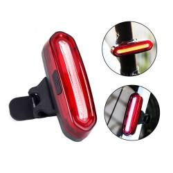 Stop LED pentru bicicleta, reincarcabil USB 600 mAh, 16 LED-uri, 4 moduri iluminare, IPX4