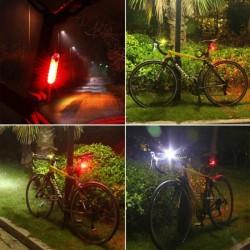 Stop pentru bicicleta, 15 LED-uri, alimentare 2 baterii CR2032, 2 moduri iluminare