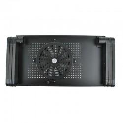 Masuta ajustabila pentru laptop 27x48 cm, cooler pentru racire, unghi 180 grade, sistem blocare