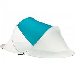 Cort pentru plaja semi-deschis, sistem deschidere automata, protectie UV, 220x120x90 cm, husa depozitare