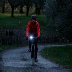 Lumina siguranta bicicleta, LED alb, alimentare baterii CR2032