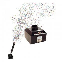 Lansator electric pentru tun de confetti, telecomanda, alimentare retea