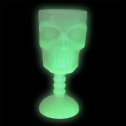 Pahar luminos tip craniu,...