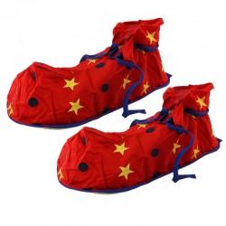 Papuci clown,...