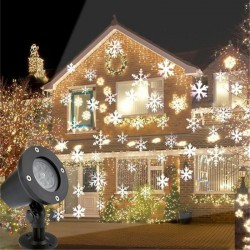 Proiector LED cu fulgi de...