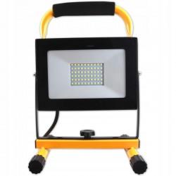 Proiector LED SMD 50W, cu stativ, unghi 120 grade, 5500K, cablu 3 m, IP65 pentru exterior