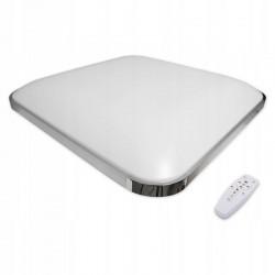 Aplica LED SMD 36W, telecomanda, culoare lumina ajustabila 3000K-6500K, 45x45 cm