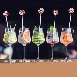 Propsuri majorat, decor cocktail 18 ani, accesorii party pentru bauturi