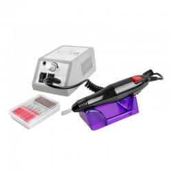 Pila electrica profesionala pentru unghii, 6 biti, 20 000RPM, accesorii slefuire, design ergonomic