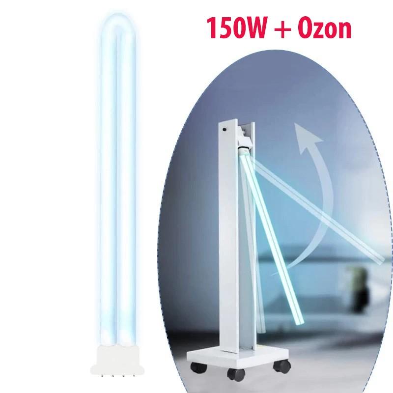 Tub bactericid UVC cu ozon 150W, rezerva lampa germicida, sterilizare, 4 pini, 81 cm